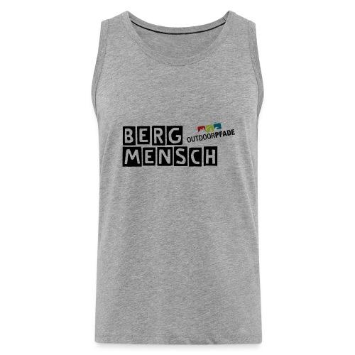 BergMensch#01 - Männer Premium Tank Top