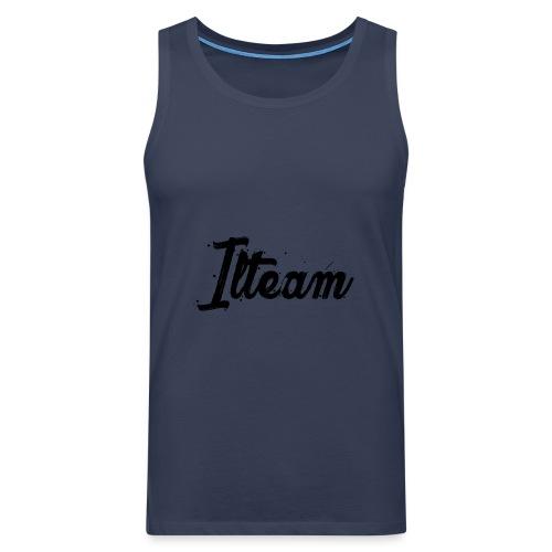 Ilteam Black and White - Débardeur Premium Homme