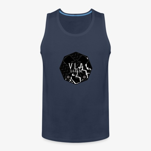 VLA GARAGE - Miesten premium hihaton paita