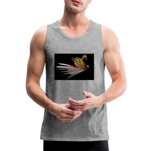 Abstract Bird - Men's Premium Tank Top
