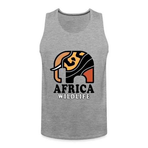 Elefant I AFRICA Wildlife - Männer Premium Tank Top