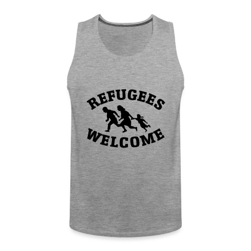 Refugees Welcome - Débardeur Premium Homme
