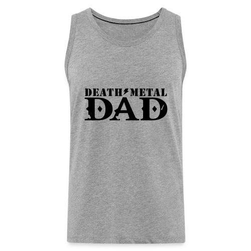 death metal dad - Mannen Premium tank top