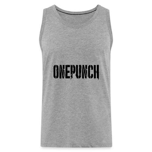 Boxing Boxing Martial Arts mma tshirt one punch - Men's Premium Tank Top