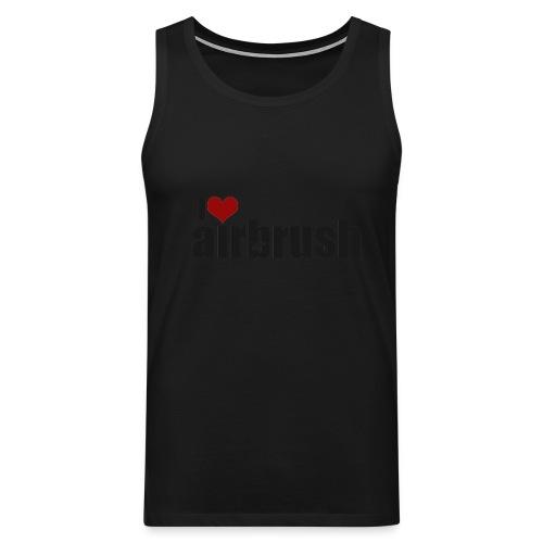 I Love airbrush - Männer Premium Tank Top
