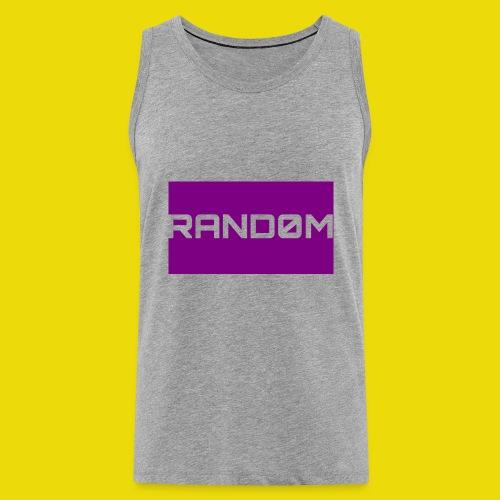 Random Logo - Men's Premium Tank Top