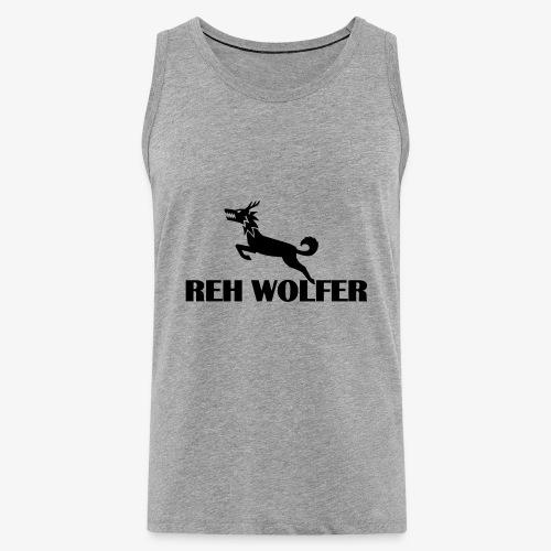 Reh Wolver - Männer Premium Tank Top