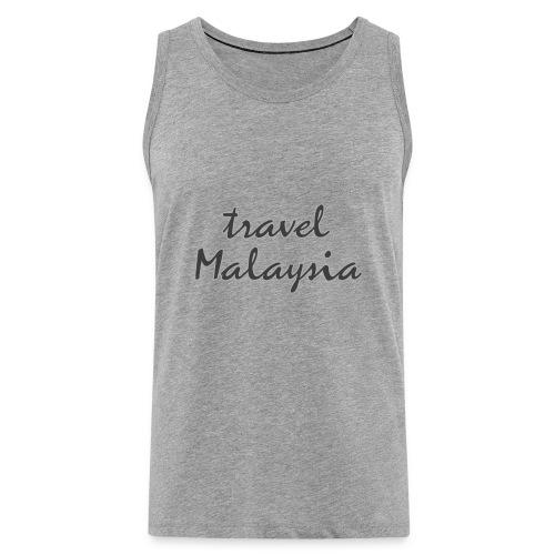 travel Malaysia - Männer Premium Tank Top