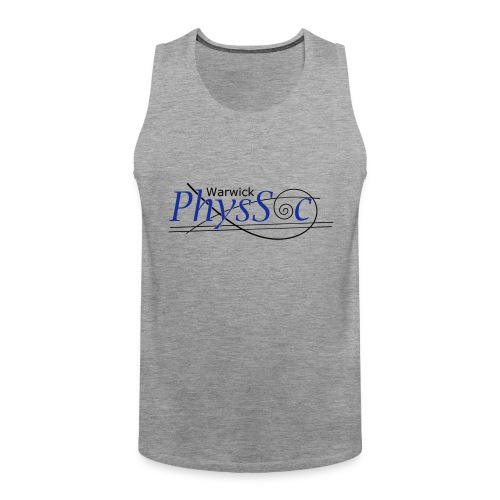 Official Warwick PhysSoc T Shirt - Men's Premium Tank Top