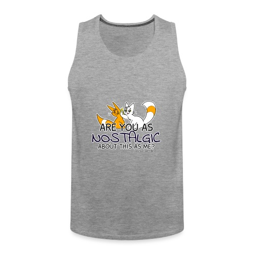 Nostalgia Hurts - Men's Premium Tank Top