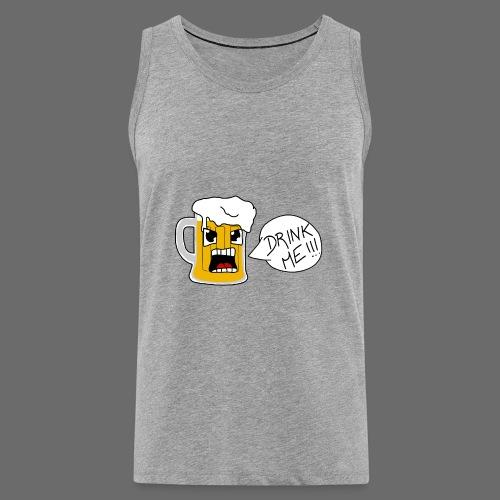 Bière - Débardeur Premium Homme
