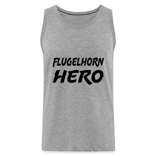 Flugelhorn Hero - Premium singlet for menn