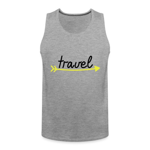 Travel - Männer Premium Tank Top