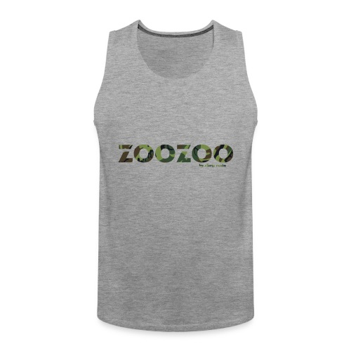 ZooZoo Camoflague Green - Männer Premium Tank Top