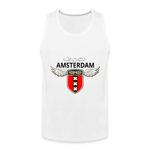 Amsterdam Netherlands - Männer Premium Tank Top