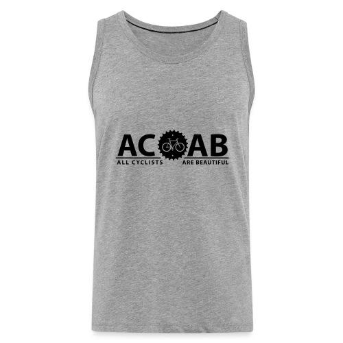 ACAB ALL CYCLISTS - Männer Premium Tank Top