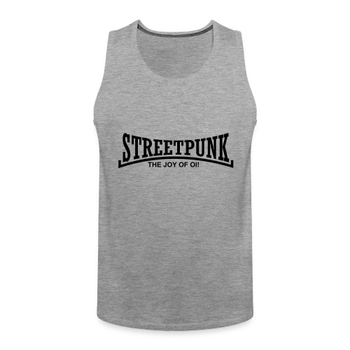 streetpunk the joy of oi! - Männer Premium Tank Top