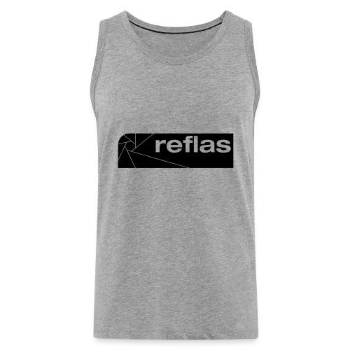 Reflas Clothing Black/Gray - Canotta premium da uomo