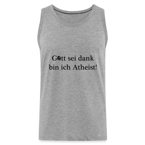 Atheist - Männer Premium Tank Top