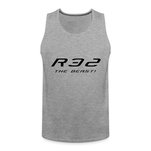 Golf R32 - The Beast - Männer Premium Tank Top