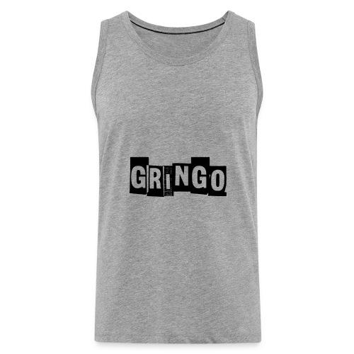 Cartel Gangster pablo gringo mexico tshirt - Men's Premium Tank Top