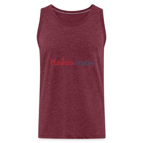 haikea logo - Miesten premium hihaton paita