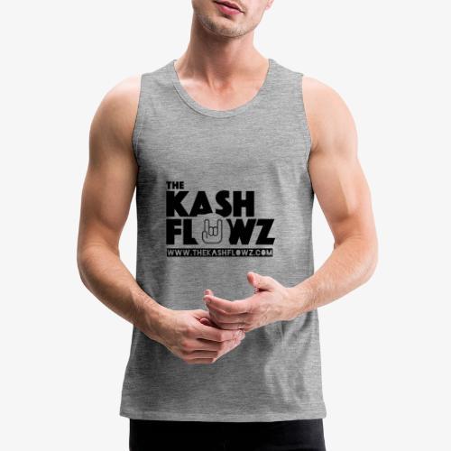 The Kash Flowz Official Web Site Black - Débardeur Premium Homme