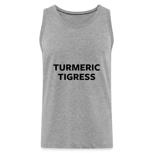 Turmeric Tigress - Men's Premium Tank Top