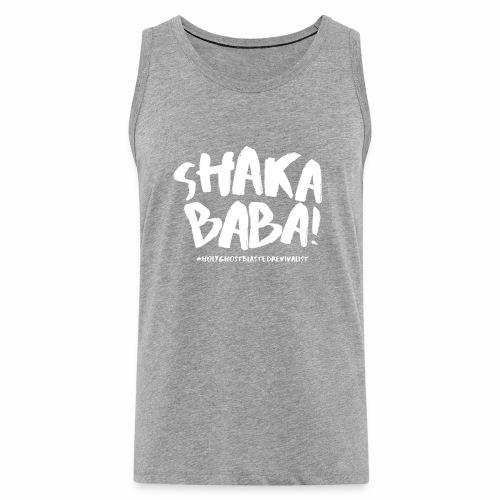 shaka - Miesten premium hihaton paita