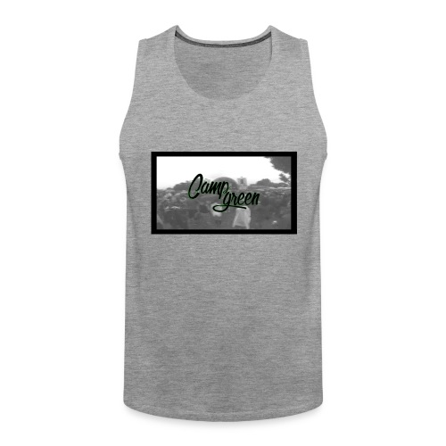 CampGreen Skyline - Männer Premium Tank Top