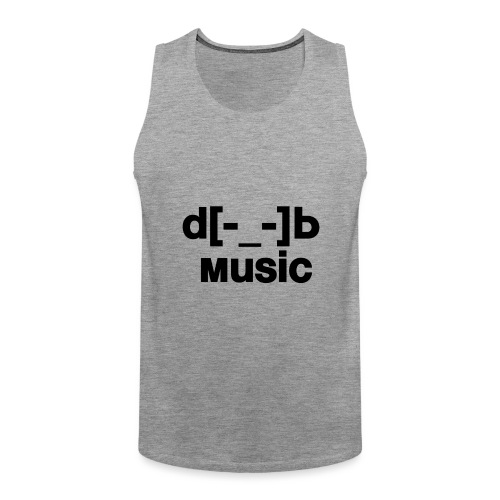 music - Débardeur Premium Homme