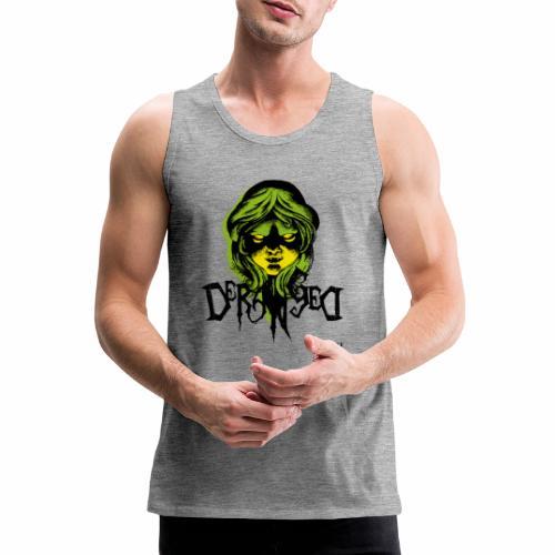 DerangeD - Tattoo Metal Horror Vampire - Herre Premium tanktop