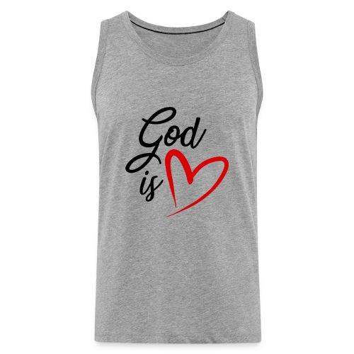 God is love 2N - Canotta premium da uomo