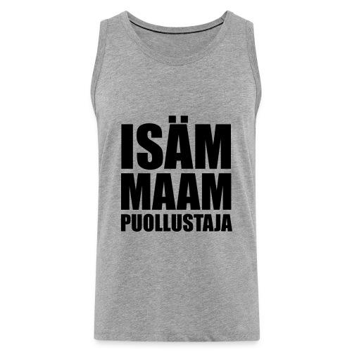 PuollustajaB - Miesten premium hihaton paita