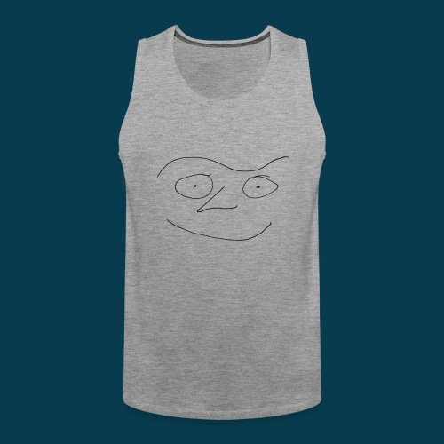 Chabisface Fast Happy - Männer Premium Tank Top