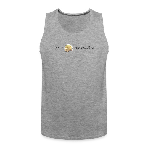 Save the turtles - Männer Premium Tank Top