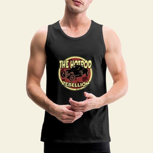 hotrod rebellion - Herre Premium tanktop