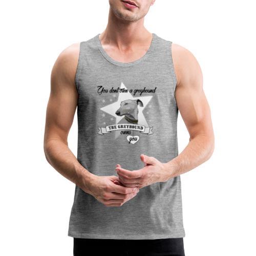 The Greyhound - Premiumtanktopp herr