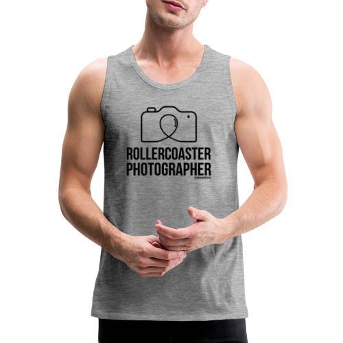 Photographe de montagnes russes - Débardeur Premium Homme