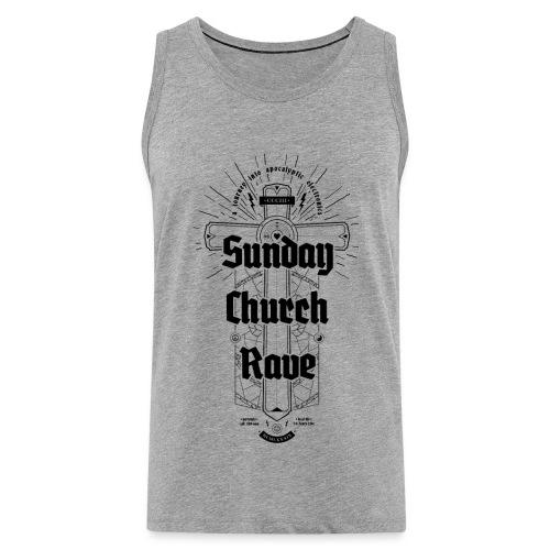 Sunday Church Rave - Men's Premium Tank Top