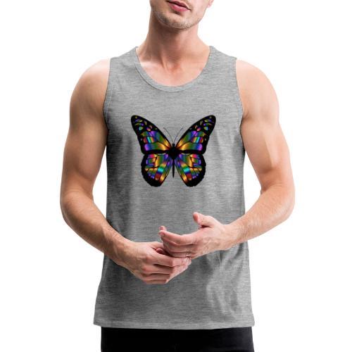 papillon design - Débardeur Premium Homme
