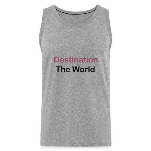 T Shirt design 2 - Débardeur Premium Homme