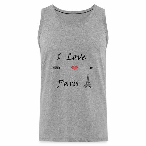 I Love Paris - Männer Premium Tank Top