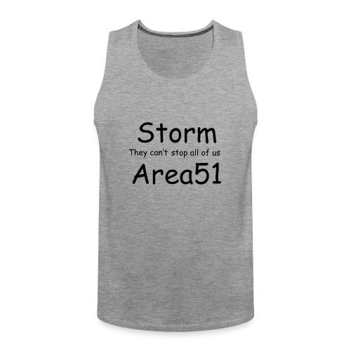 Storm Area 51 - Men's Premium Tank Top