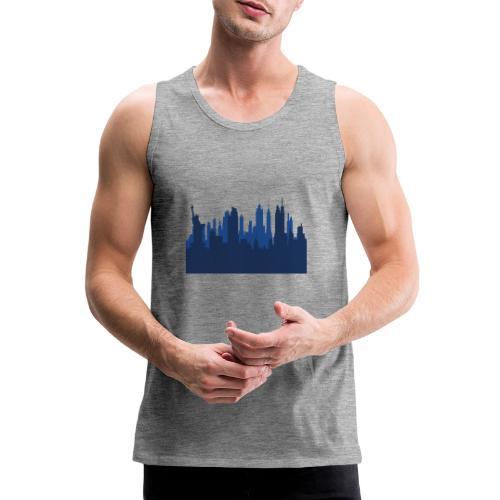 Manhattan Skyline - Débardeur Premium Homme