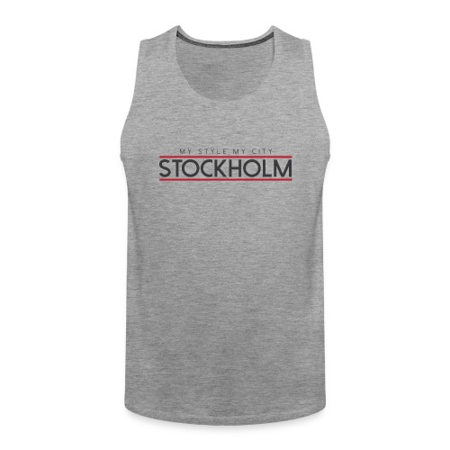 MY STYLE MY CITY STOCKHOLM - Men's Premium Tank Top