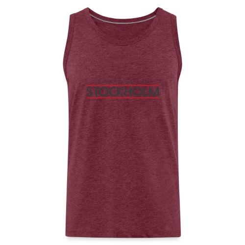 MY STYLE MY CITY STOCKHOLM - Men's Premium Tank Top