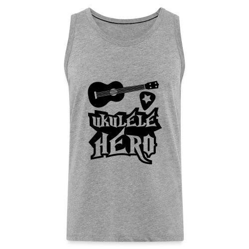 Ukelele Hero - Men's Premium Tank Top