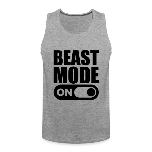 BEAST MODE ON - Men's Premium Tank Top