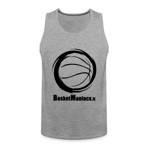 Basket Maniacs - Canotta premium da uomo